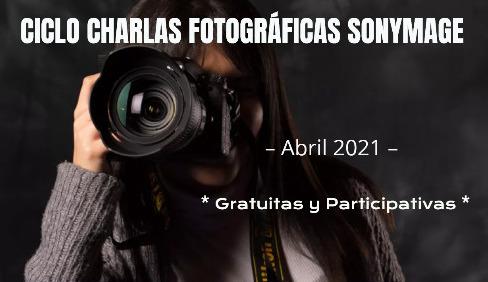 Charlas fotográficas SONYMAGE